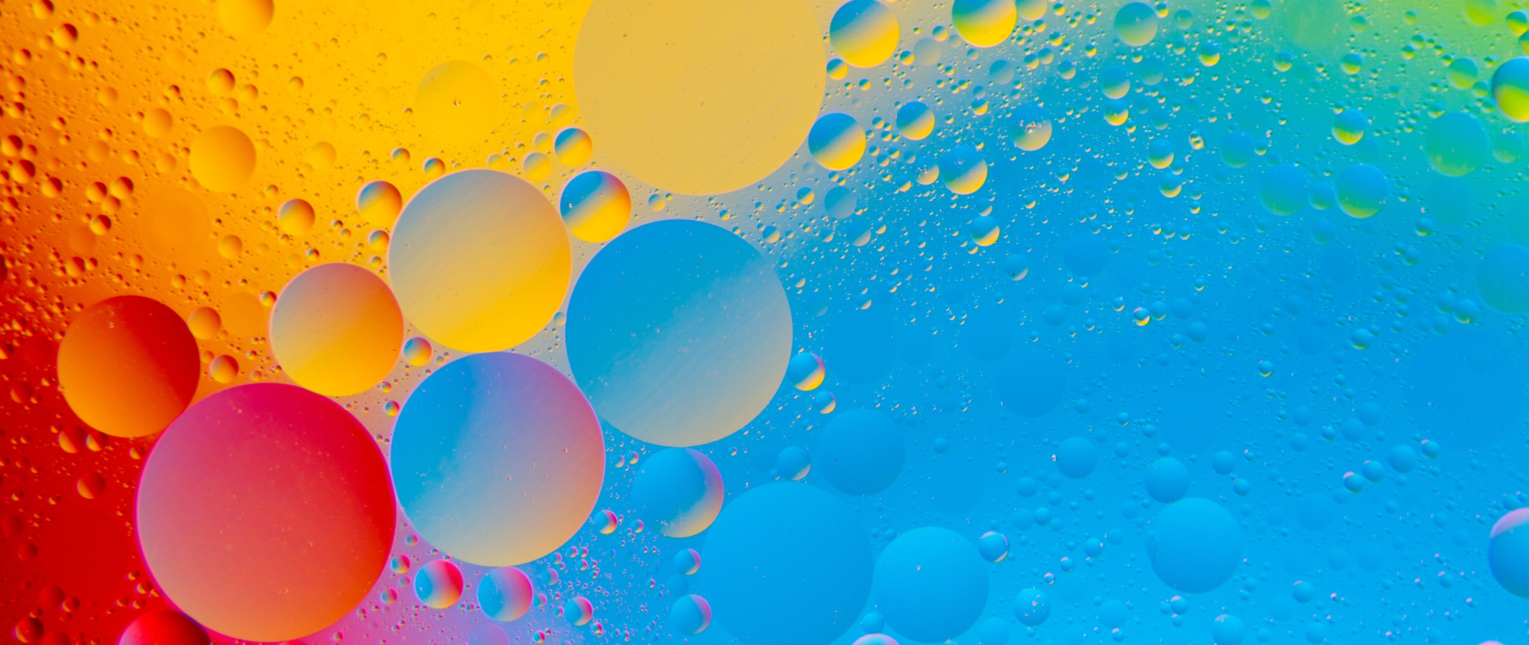 Abstract Painting 4k Hd Desktop Wallpaper For 4k Ultra Hd: Colourful Bubbles 4K HD Abstract Wallpaper 4K Ultra HD