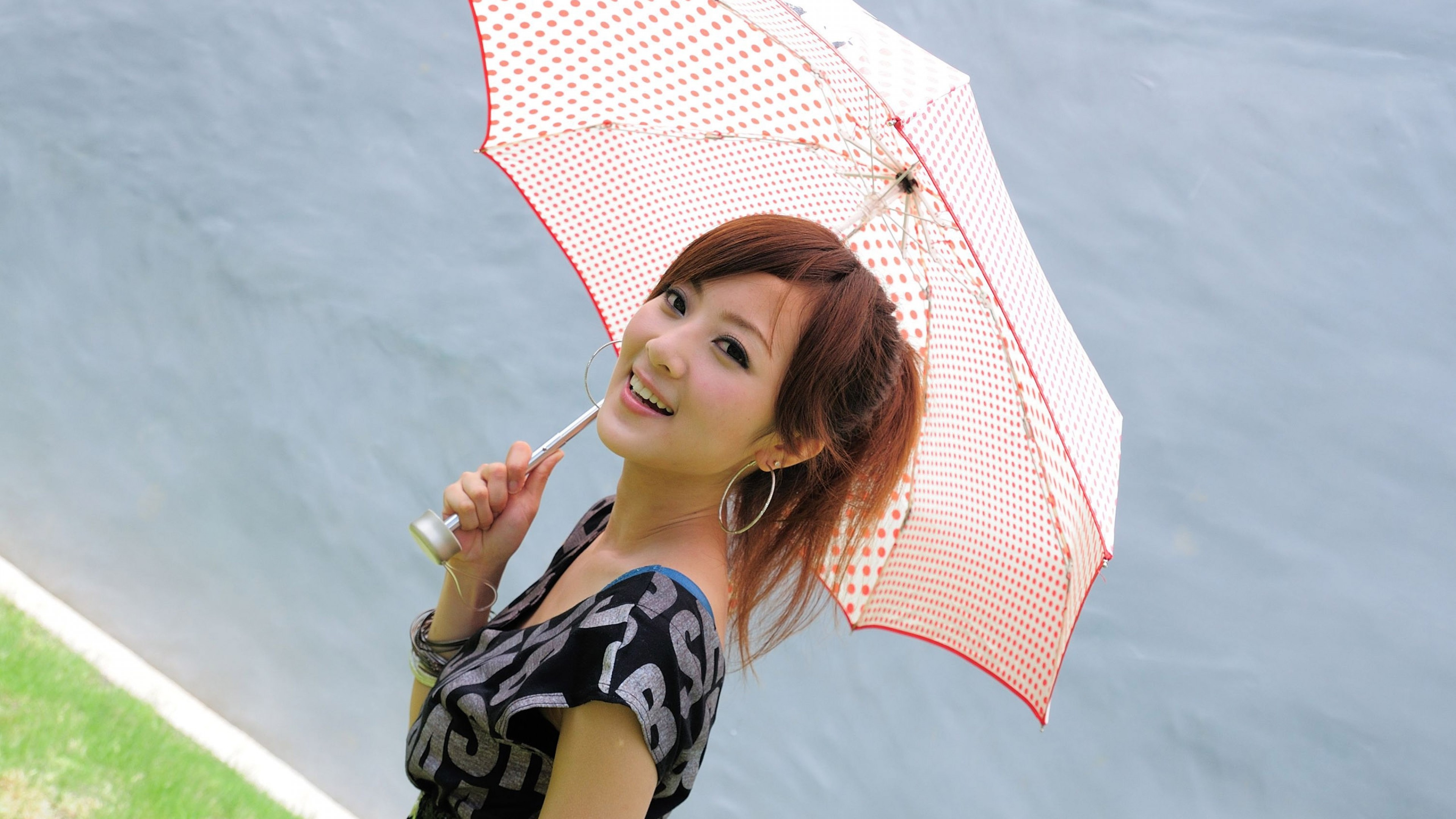 Smiling Cute Asian Girl Hd Wallpaper 4k Ultra Hd Hd Wallpaper