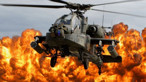 Apache Helicopter HD Wallpaper