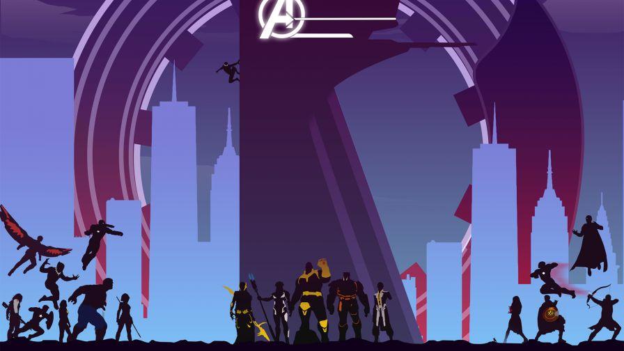 Avengers 4 Wallpaper 1920x1080 - Play Soon Two