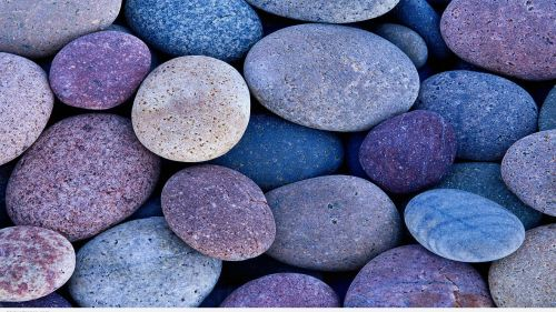 Coloured Pebbles