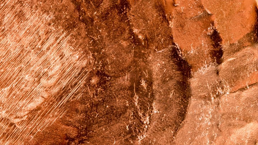 Copper surface HD Wallpaper