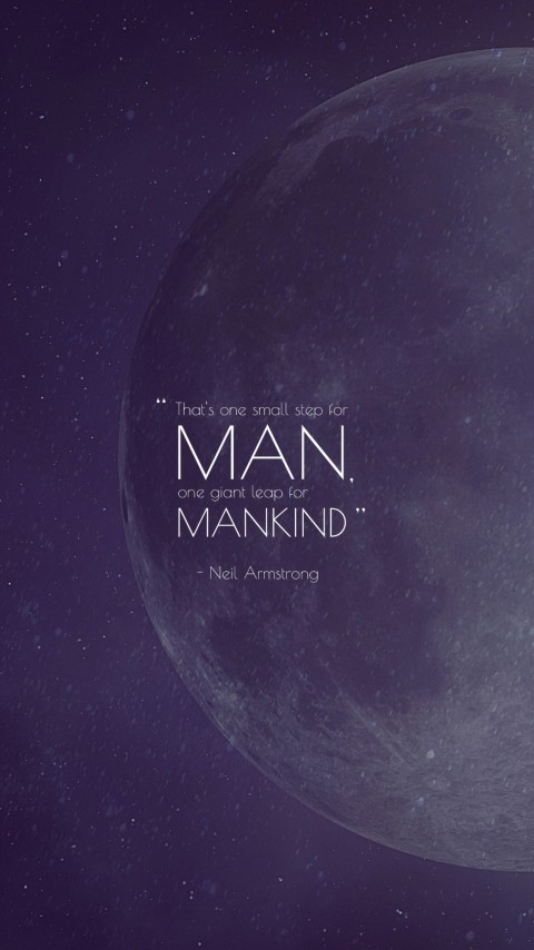 Download One Small Step for Mankind Hd Wallpaper for Desktop and Mobiles