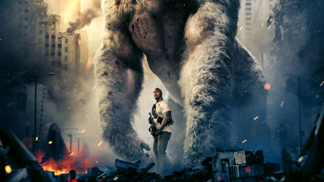 Download Rampage 2018 FUll Hd Wallpaper for Desktop and Mobiles