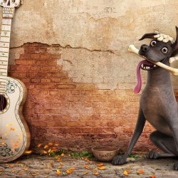 Free Download Dante Dog In Coco Hd Wallpaper for Desktop and Mobiles