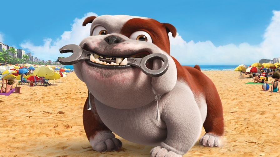 Free Download Dog Cartoon Hd Wallpaper For Desktop And Mobiles