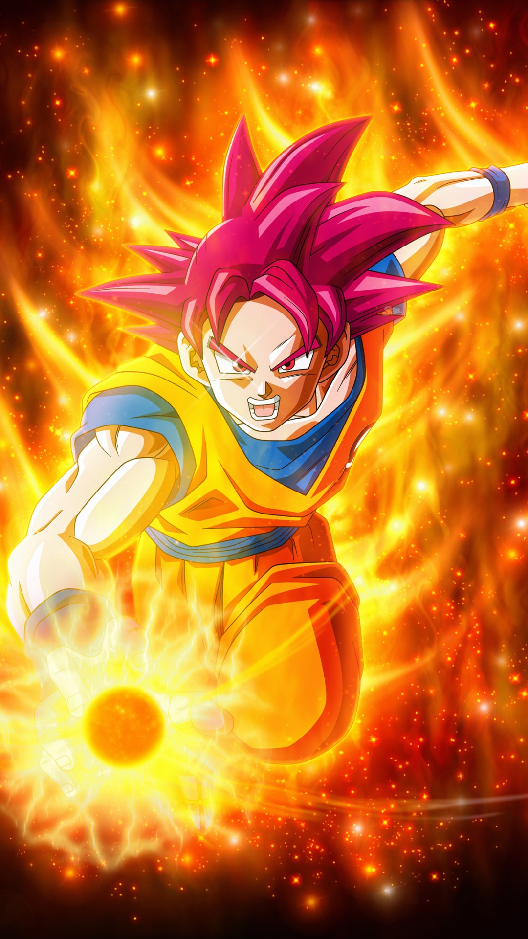 Super saiyan goku dragon ball super super 4k iphone 6 6s - Dragon ball super background music mp3 download ...