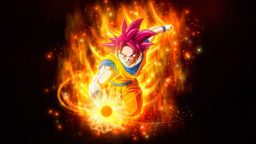 Super Saiyan Goku Dragon Ball Super Super 4k Wallpapers Net