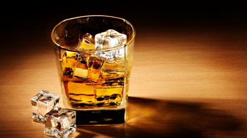Whisky Bottle Hd Wallpaper for Desktop and Mobiles