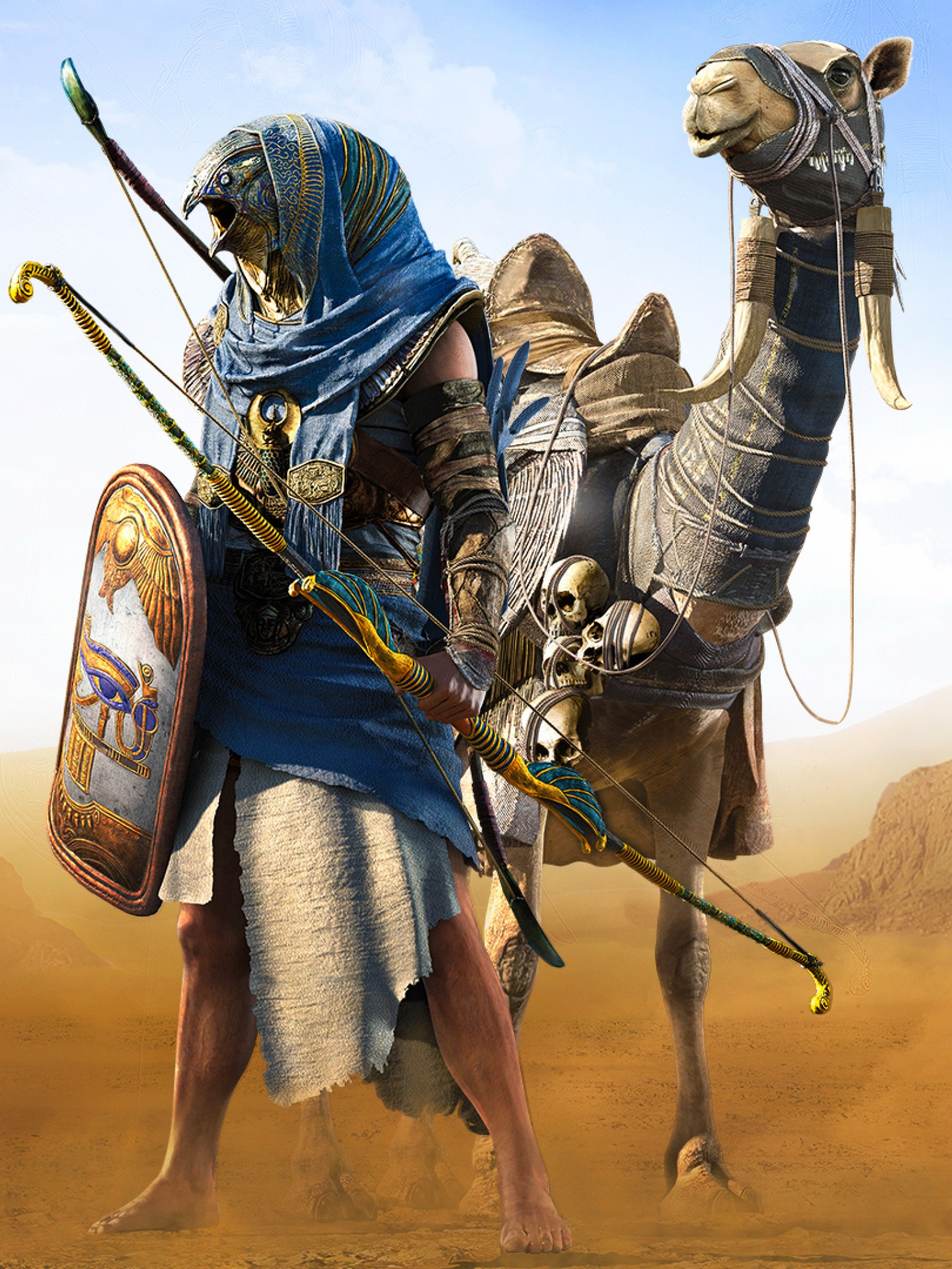 assassin s creed origins hd wallpaper for desktop and mobiles retina