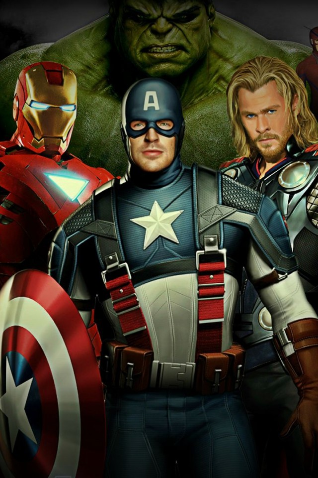 Avengers 2 Full Hd Wallpaper For Desktop And Mobiles Iphone 4 4s