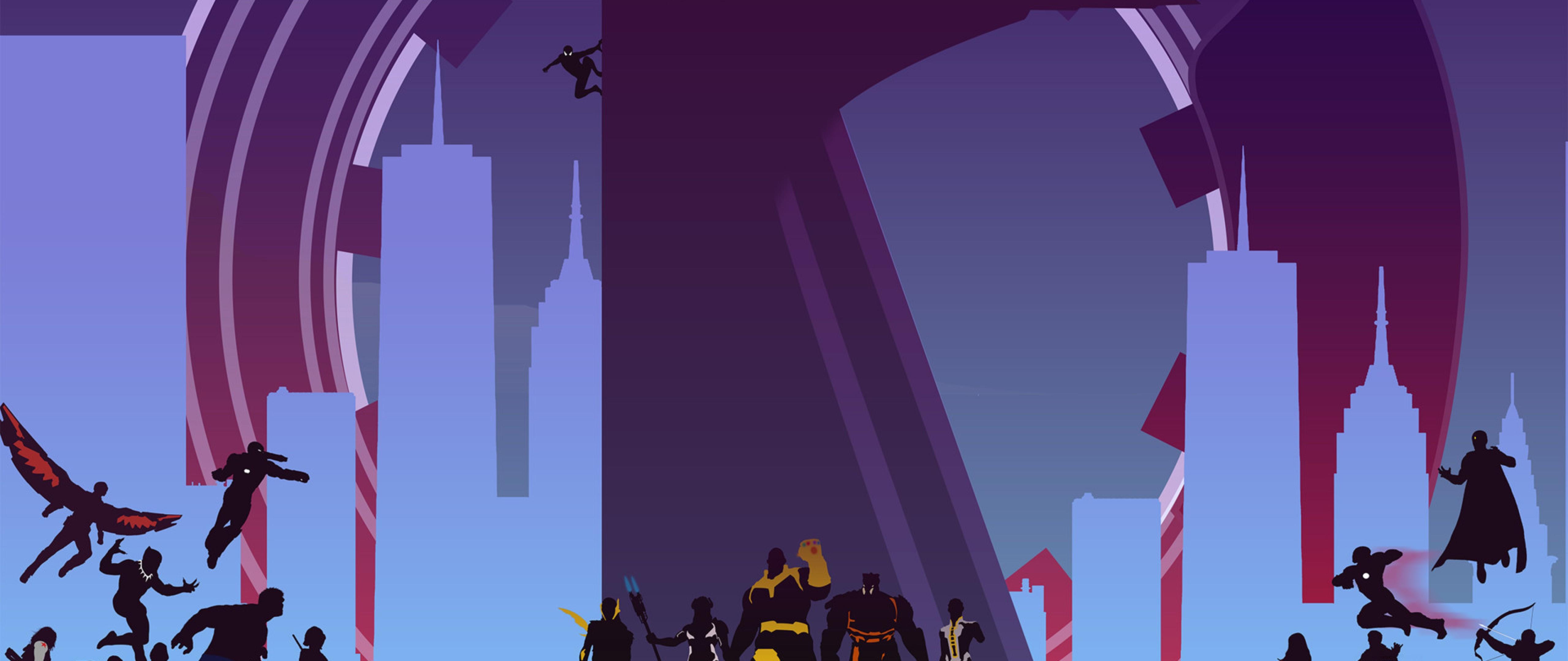 Avengers Infinity War Artwork Full Hd Wallpaper For Desktop And