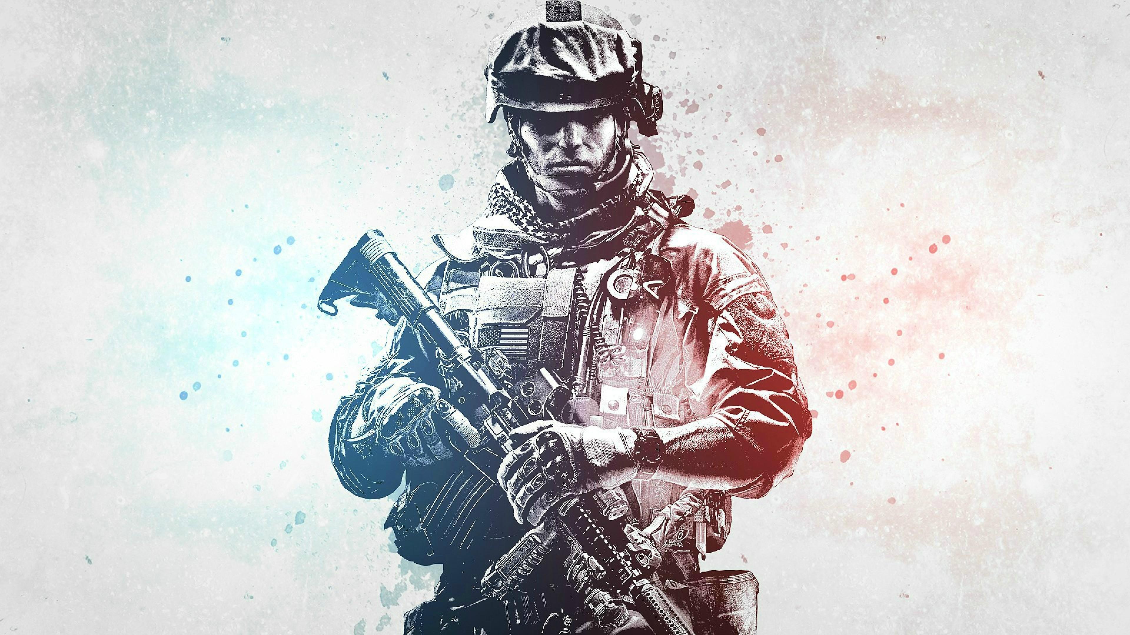 Battlefield 3 Hd Wallpaper 4k Ultra Hd Hd Wallpaper Wallpapersnet