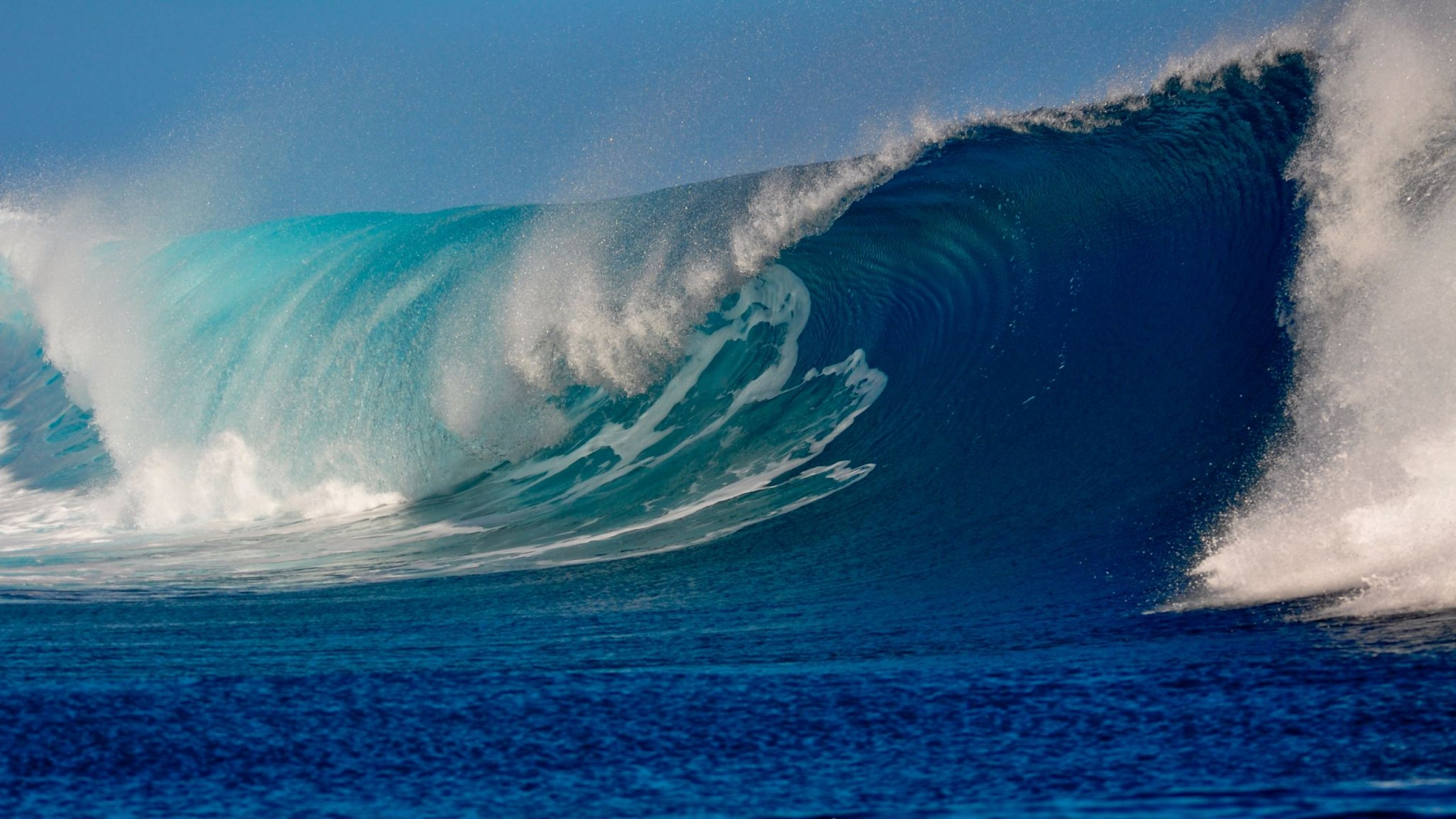 Beautiful Ocean Waves Live Wallpaper For Desktop And Mobiles Youtube