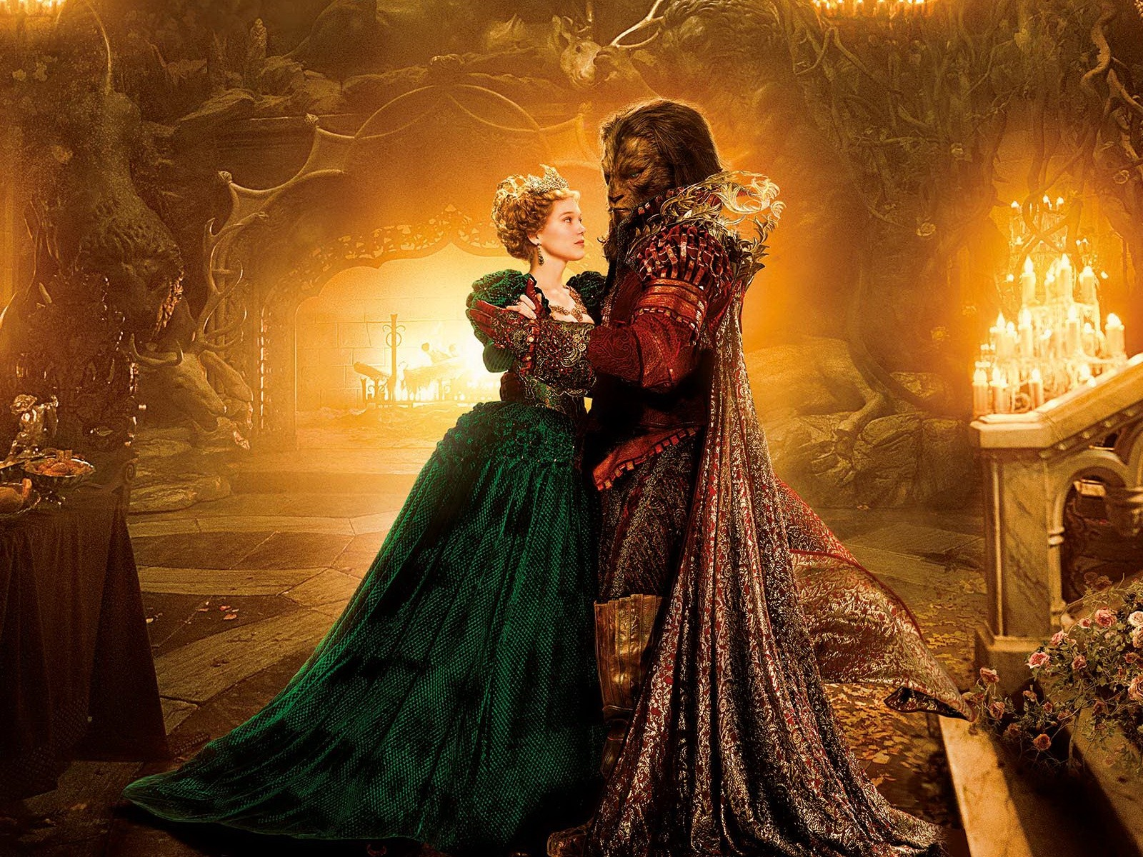 Beauty And The Beast Hd Wallpaper 1600x1200 Hd Wallpaper