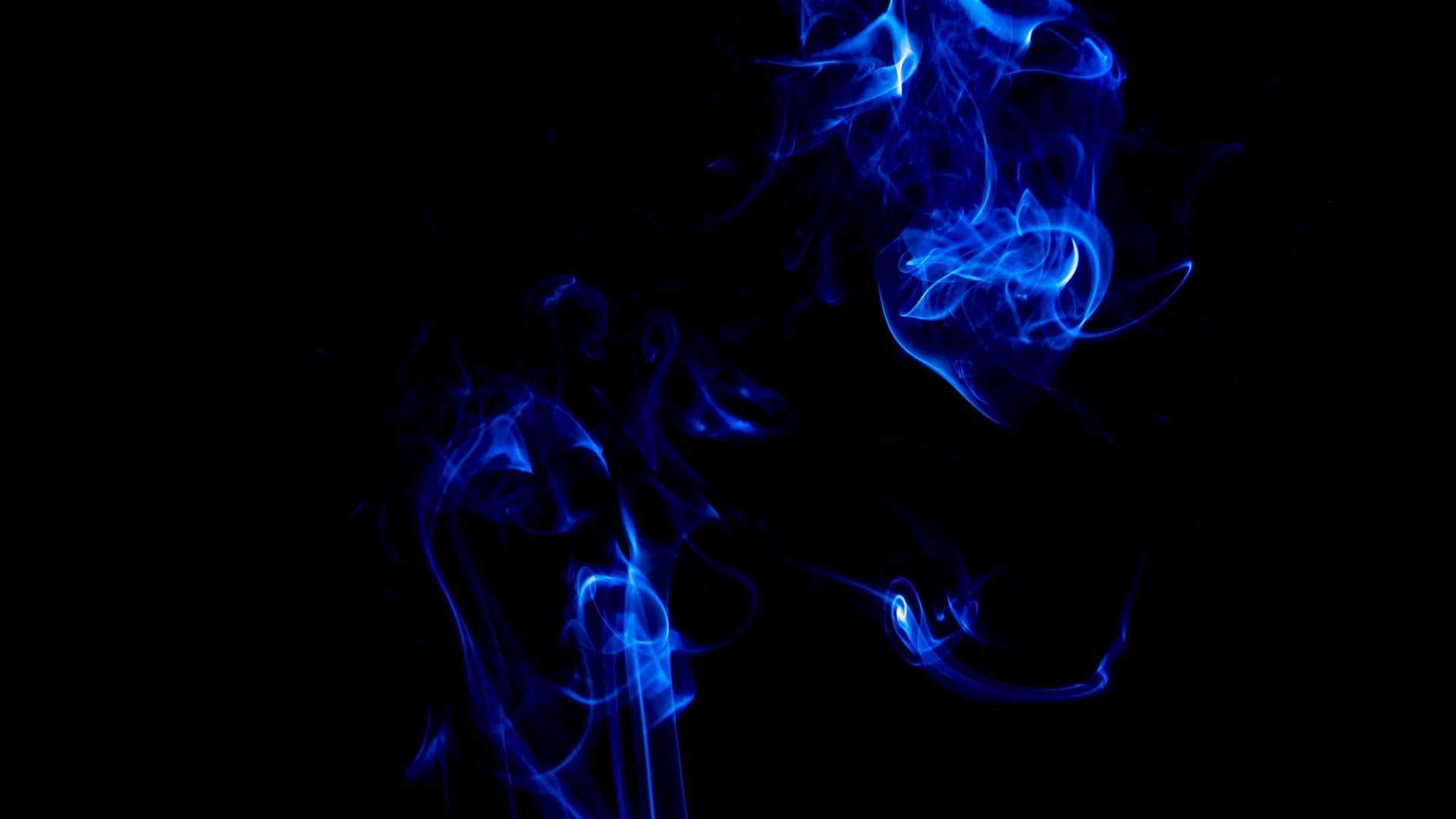 Blue Smoke At The Dark Hd Wallpaper Iphone 7 Plus Iphone 8 Plus