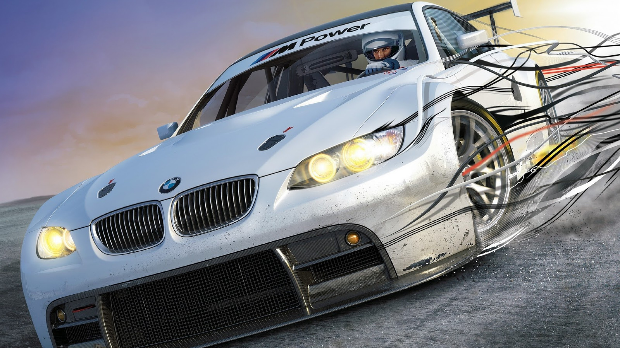 Bmw Drift Car Hd Wallpaper For Desktop And Mobiles Youtube Cover