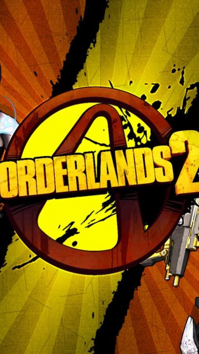 Borderlands 2 Hd Wallpaper Iphone 5 5s Ipod Hd