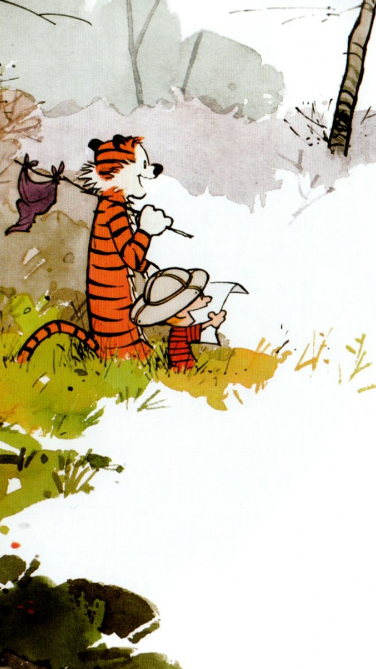 Calvin And Hobbes Hd Wallpaper Iphone 6 6s Hd Wallpaper