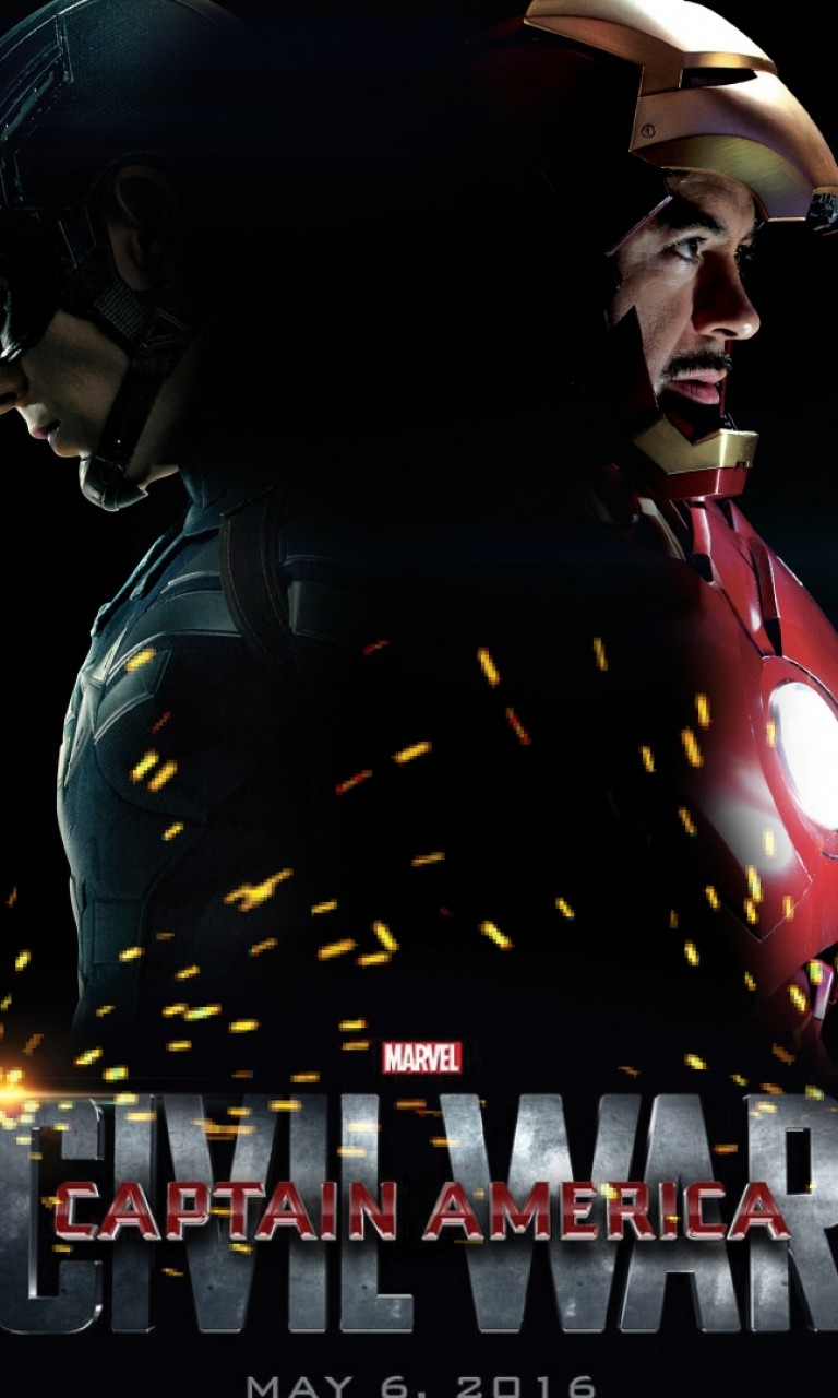 Captain America Civil War Wallpaper For Desktop And Mobiles 768x1280