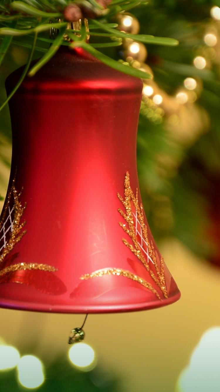 Christmas Bells Hd Wallpaper Iphone 6 6s Hd Wallpaper