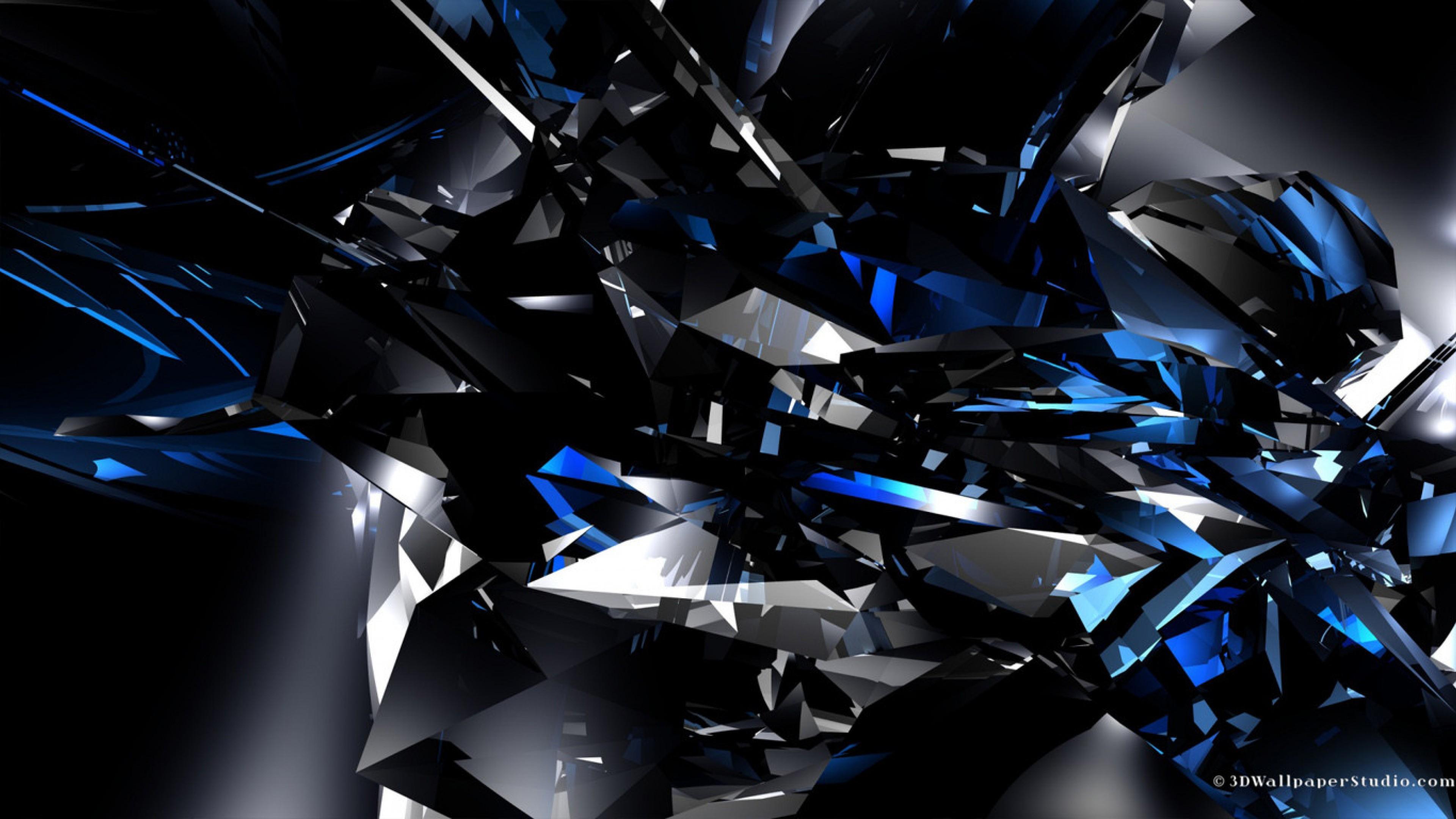 Crystal Lake Black And Blue Hd Wallpaper 4k Ultra Hd Hd Wallpaper Wallpapers Net