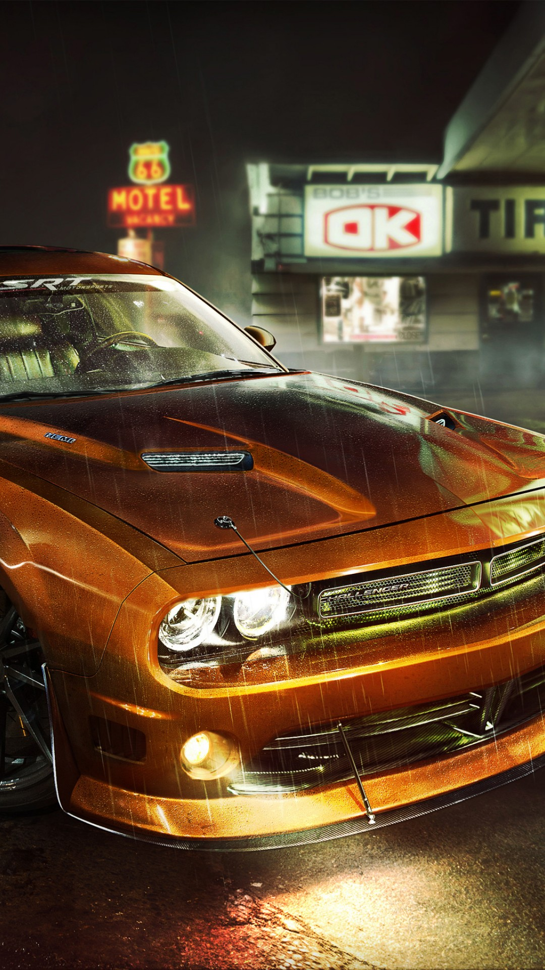 Dodge Challenger Rt Car Hd Wallpaper For Desktop And Mobiles
