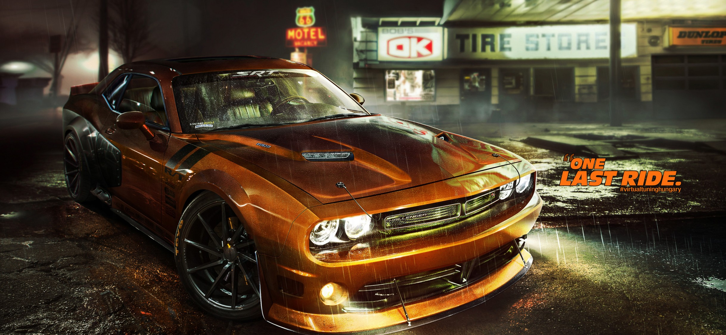 Dodge Challenger Rt Car Hd Wallpaper For Desktop And Mobiles Iphone