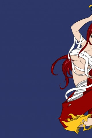 Erza Scarlet Fairy Tail Hd Wallpaper Older Iphone Ipod