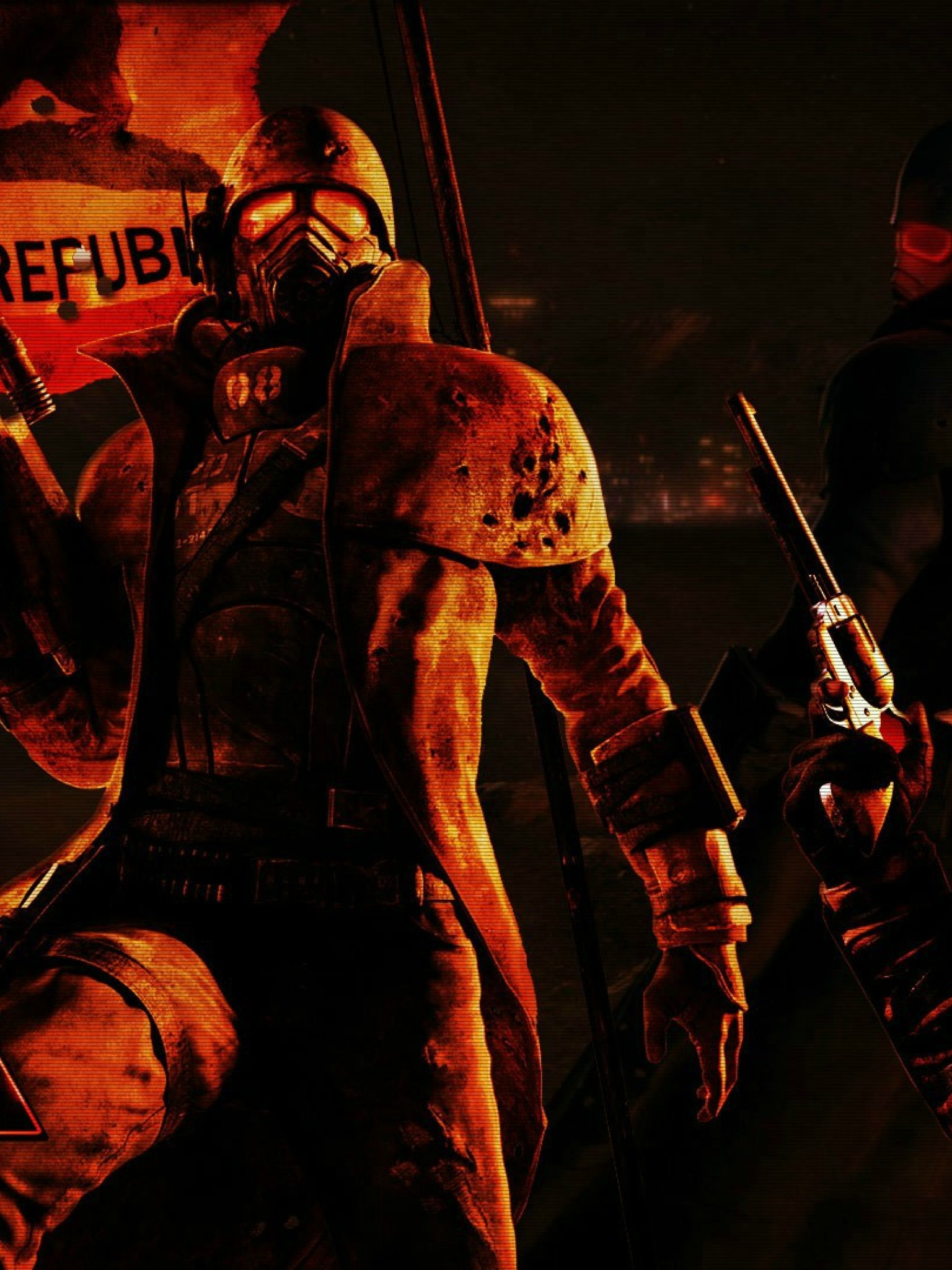 Fallout New Vegas Hd Wallpaper For Desktop And Mobiles Retina Ipad