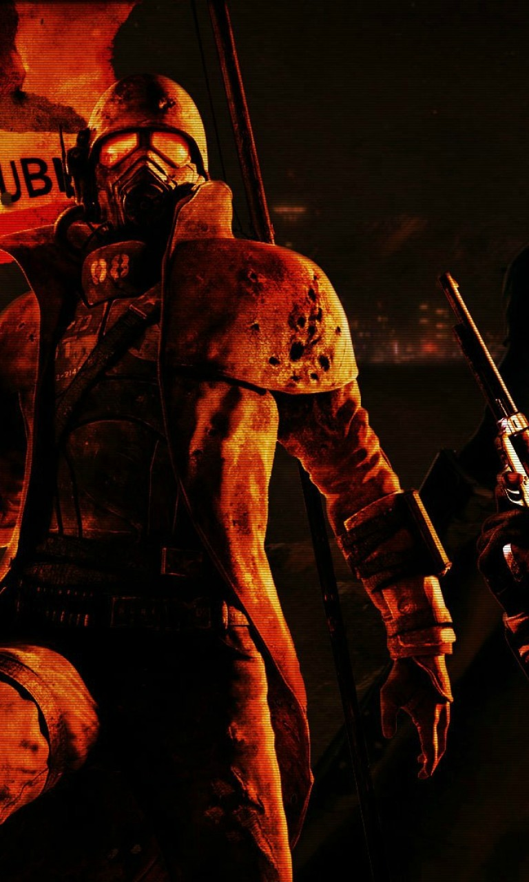Fallout New Vegas Hd Wallpaper For Desktop And Mobiles 768x1280