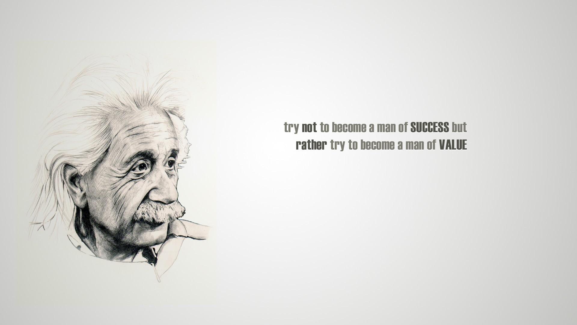 Free Albert Einstein Quote Hd Wallpaper For Desktop And Mobiles