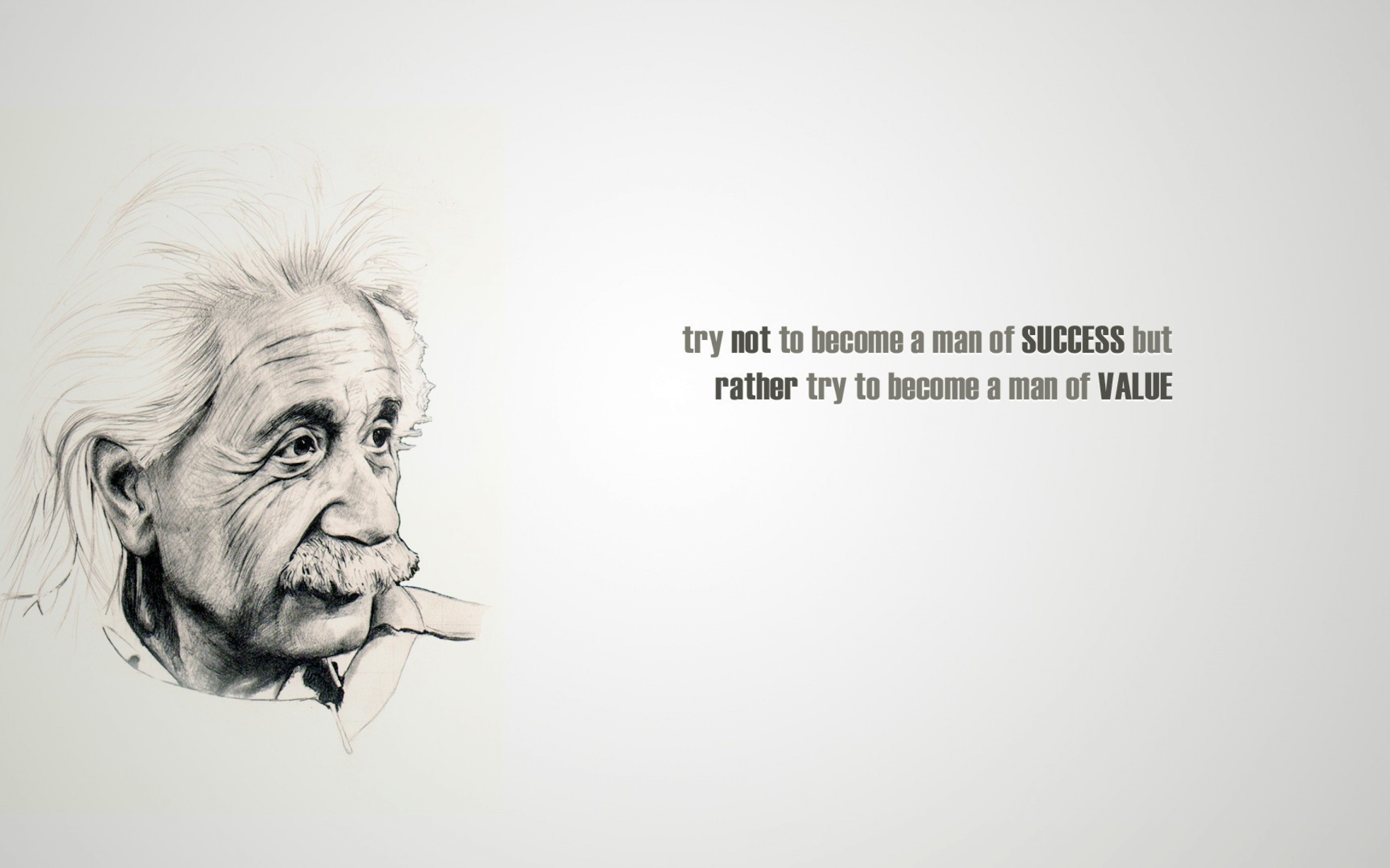 Free Albert Einstein Quote Hd Wallpaper For Desktop And Mobiles 15