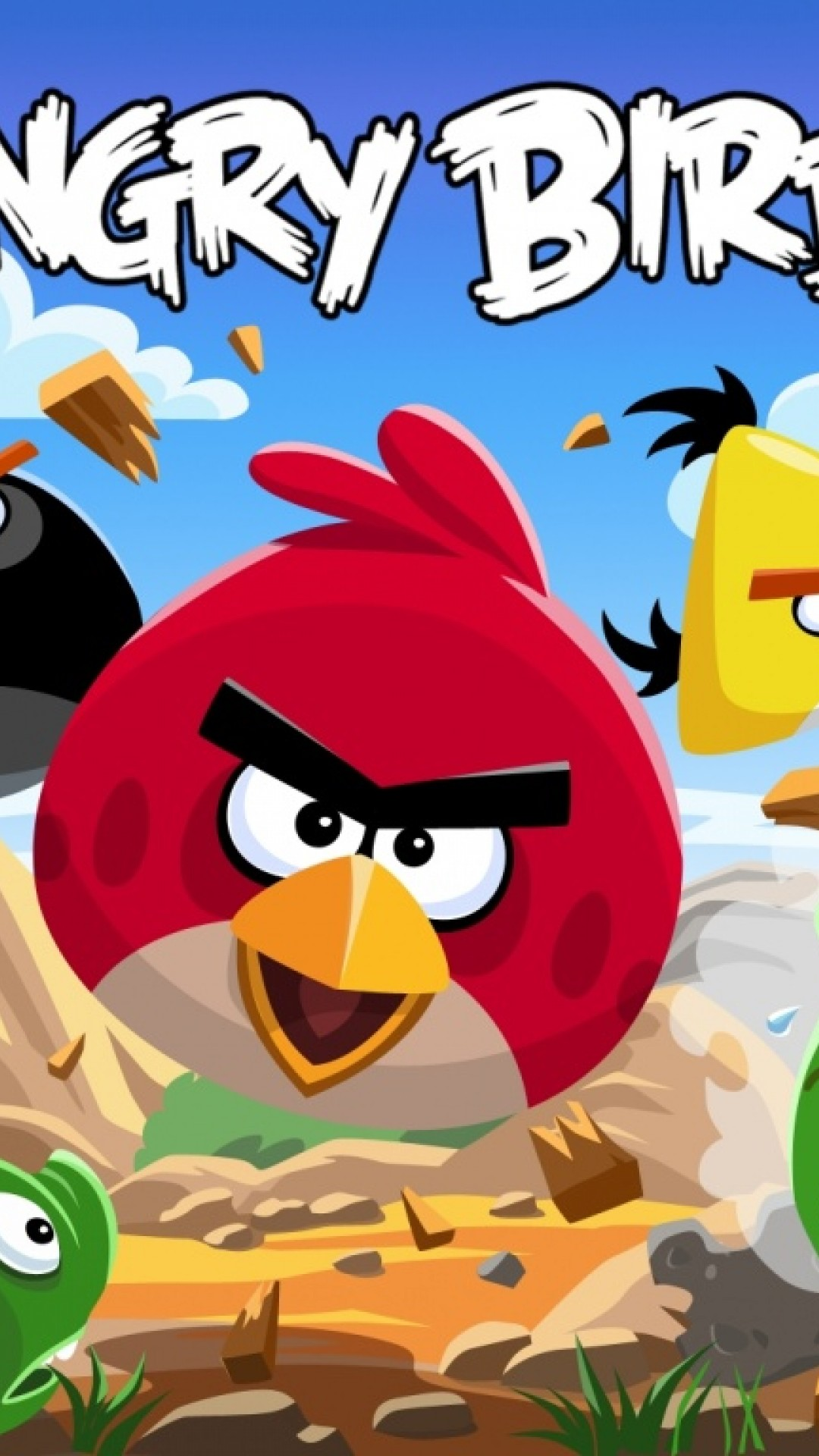 Free Download Angry Birds Hd Wallpaper For Desktop And Mobiles Iphone 6 6s Plus Hd Wallpaper Wallpapers Net
