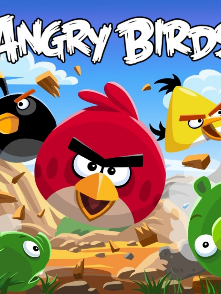 Free Download Angry Birds Hd Wallpaper For Desktop And Mobiles Non