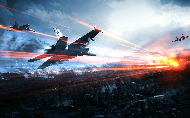 Free Download Battlefield 4 Jets Full Hd Wallpaper For Desktop And
