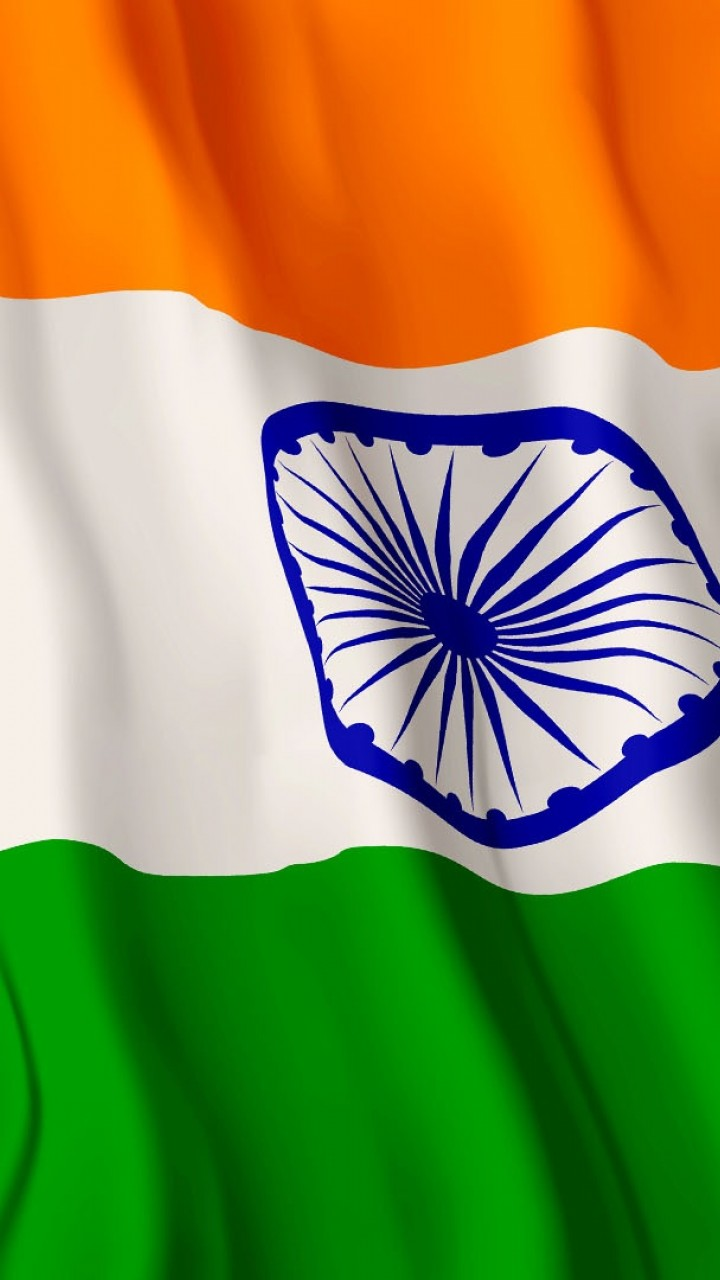 Free Download Indian Flag Wallpaper For Desktop And Mobiles 720x1280