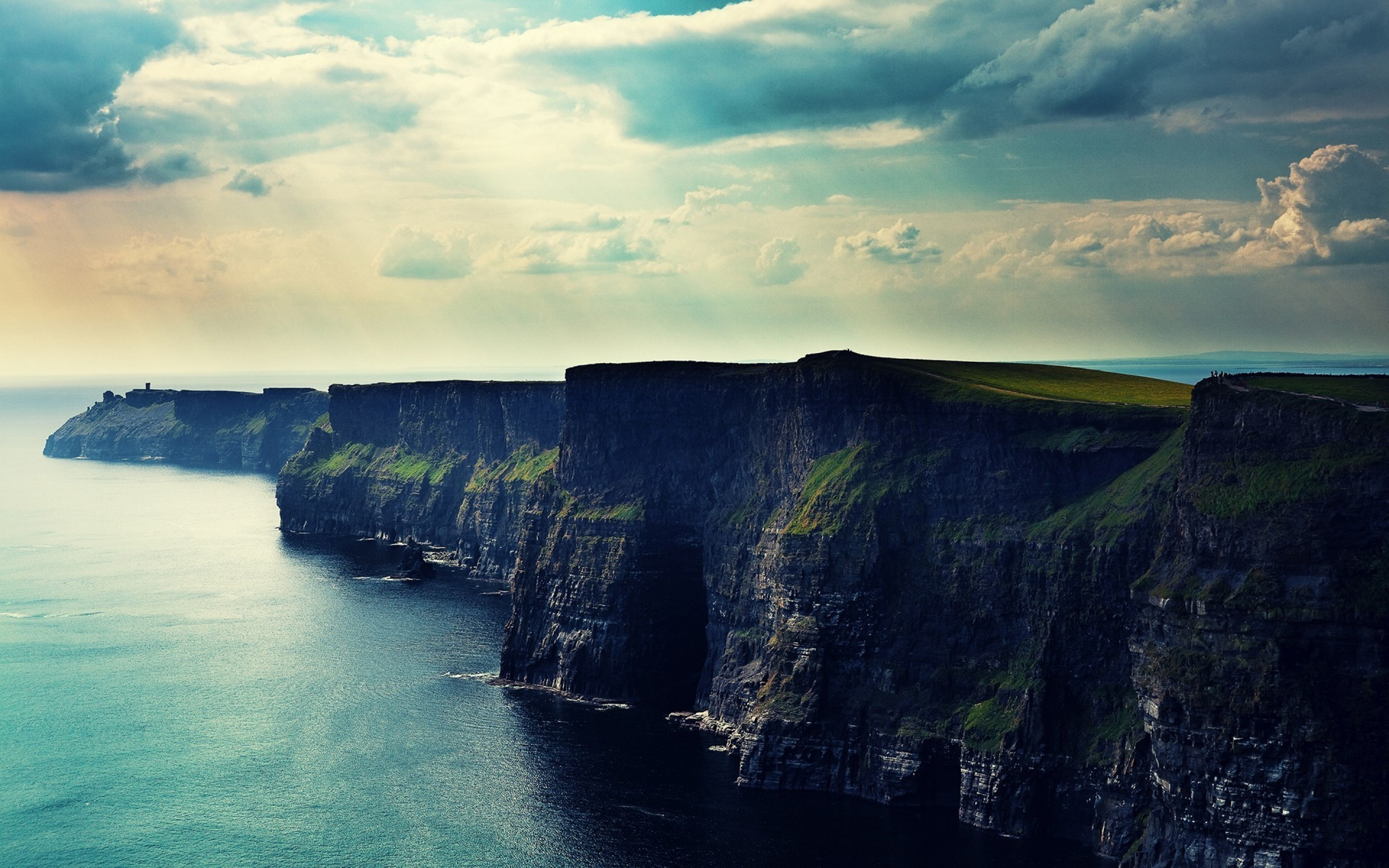 Free Ireland Cliff Mobile And Desktop Hd Wallpaper 15 Retina
