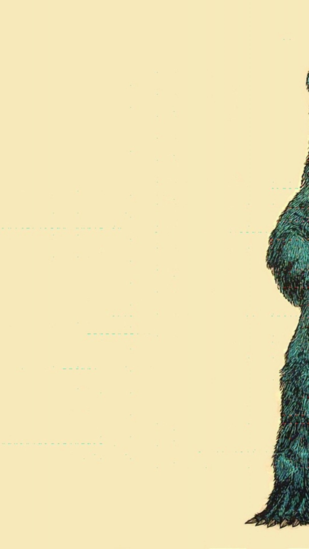 Funky Bear Drawing Wallpaper For Desktop And Mobiles Iphone 6 6s