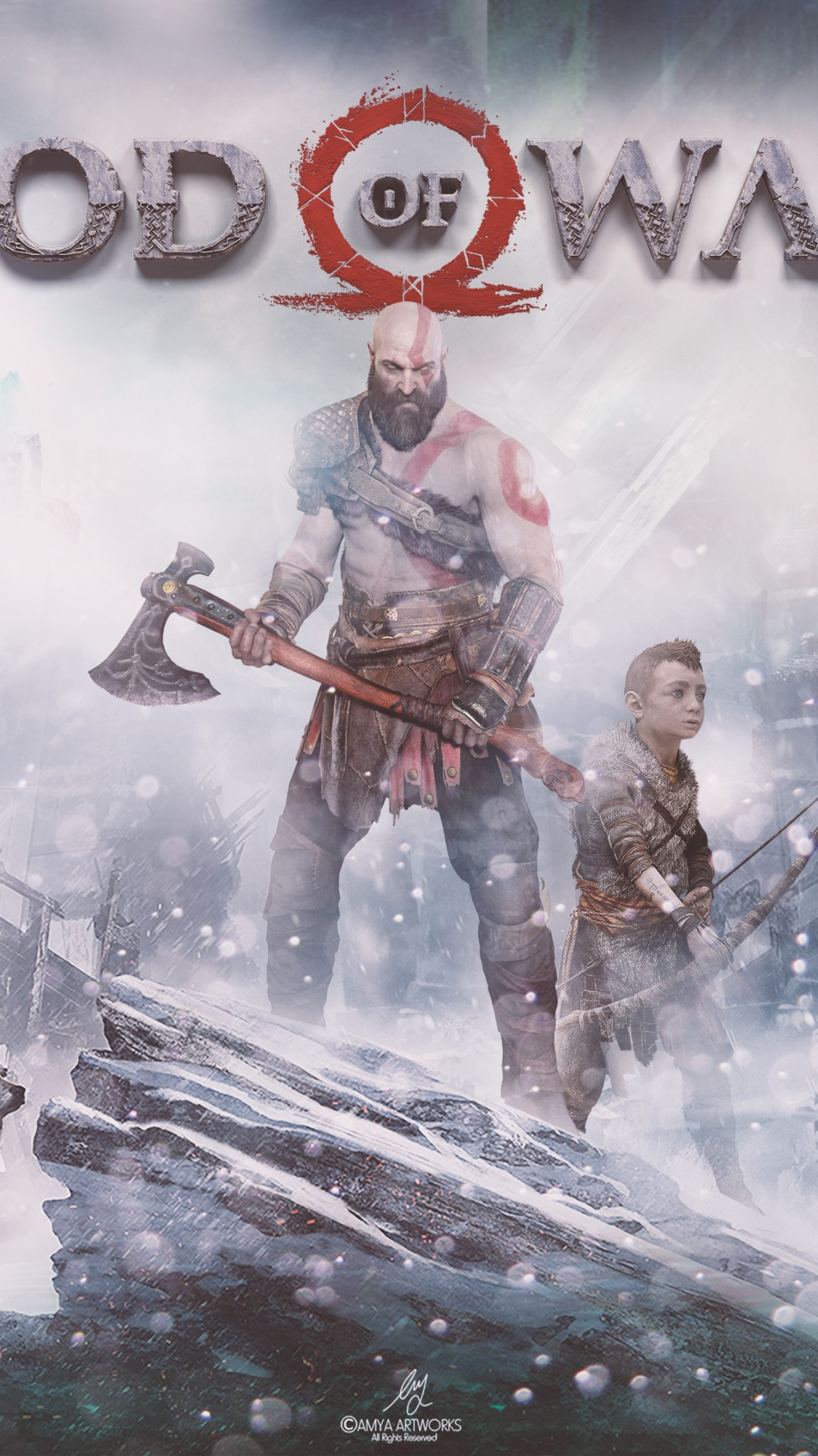 God Of War PS4 4K HD Wallpaper