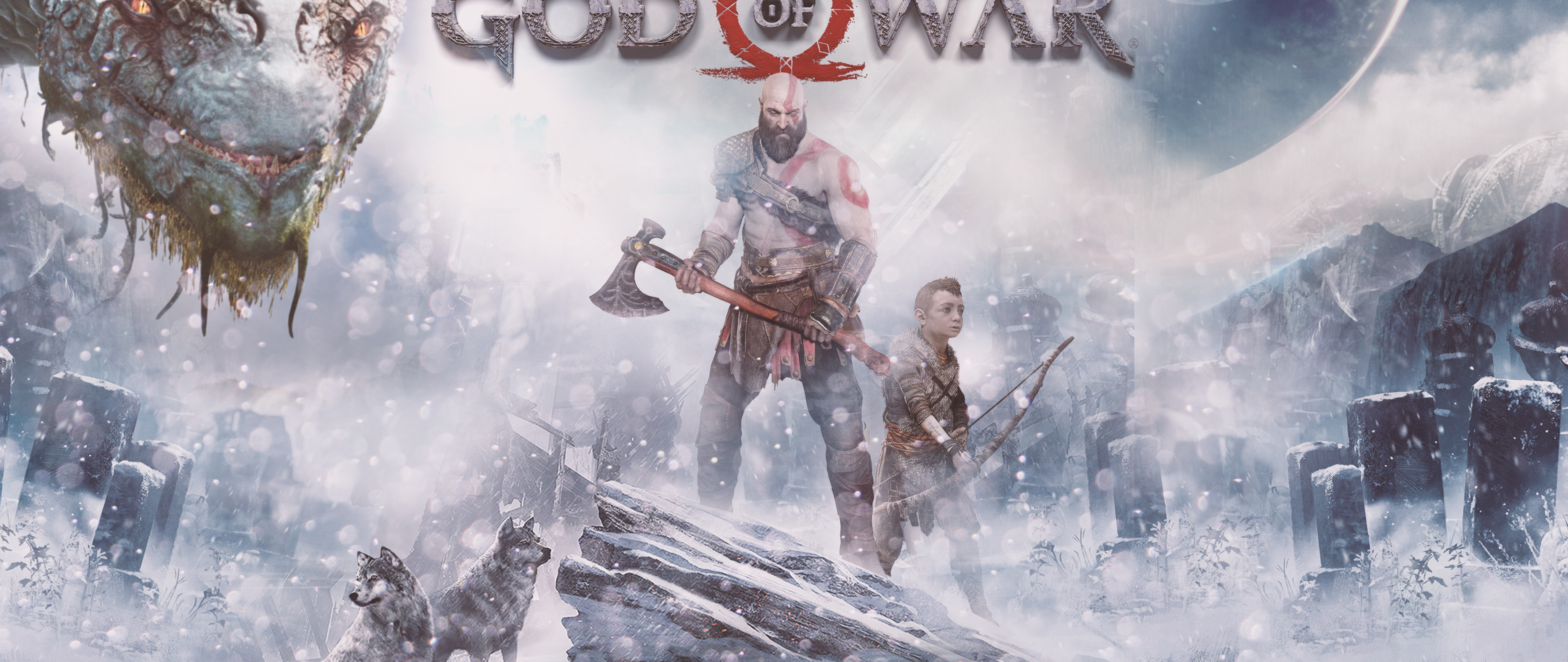 God of war ps4 4k hd wallpaper 4k ultra hd wide tv hd - God of war wallpaper for ps4 ...