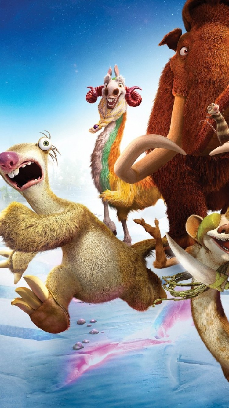 Ice Age Collision Course Hd Wallpaper Iphone 6 6s Hd