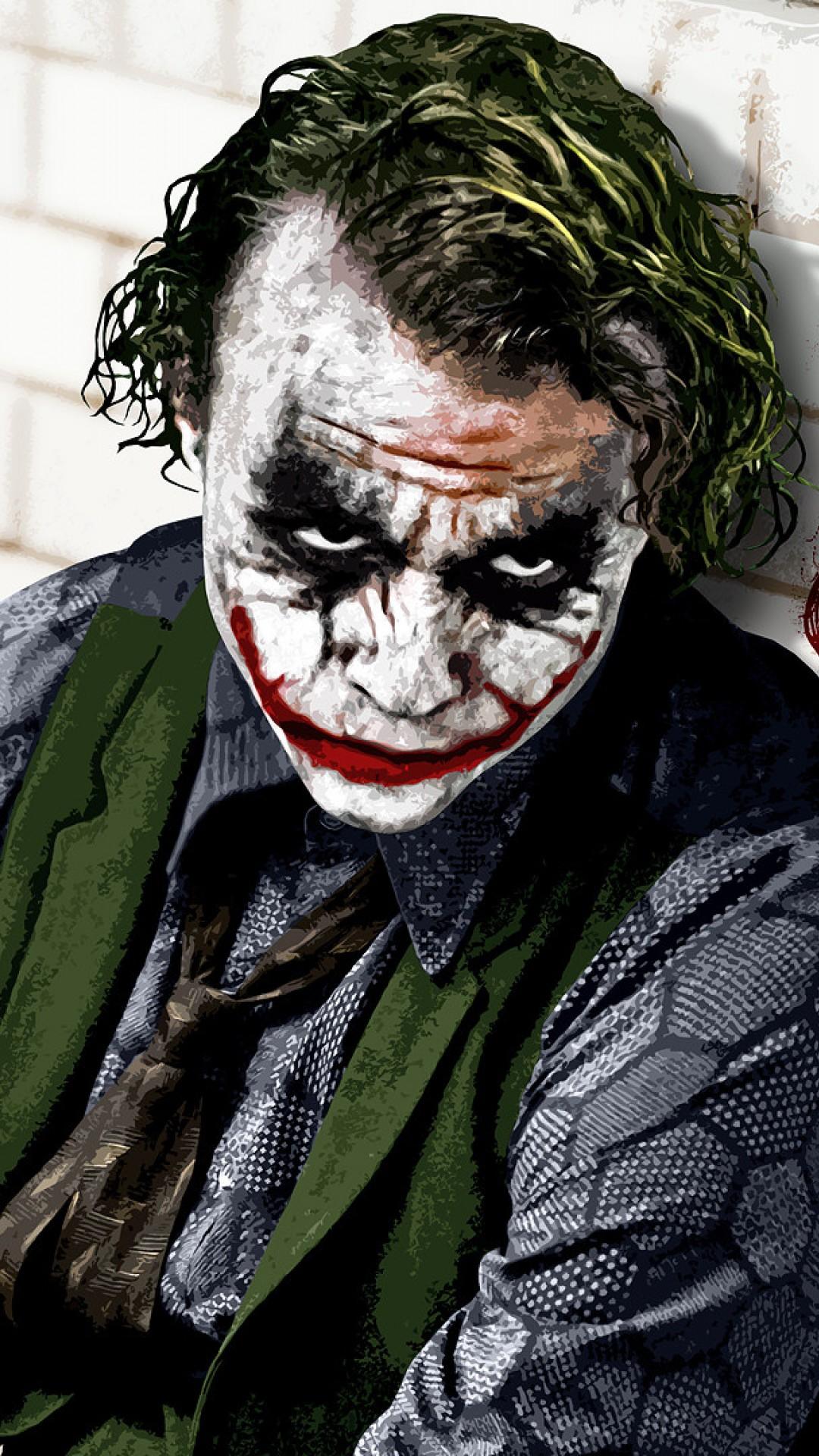 Joker The Dark Knight Hd Wallpaper Iphone 6 6s Plus Hd