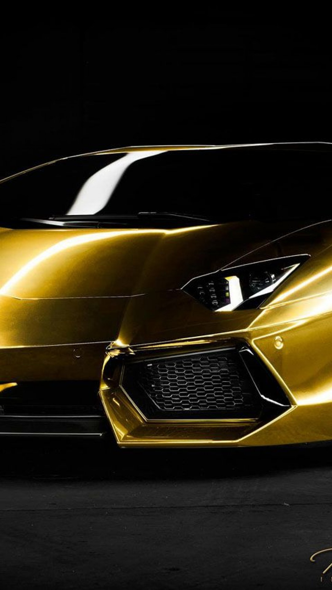 Lamborghini Gold Hd Wallpapers Iphone 6 6s Plus Hd