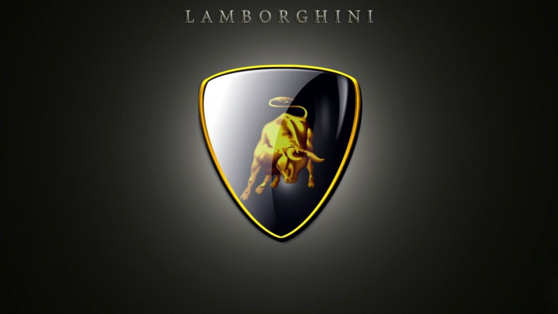 Lamborghini Logo 3D And Hd Wallpaper For Desktop Mobiles IPhone