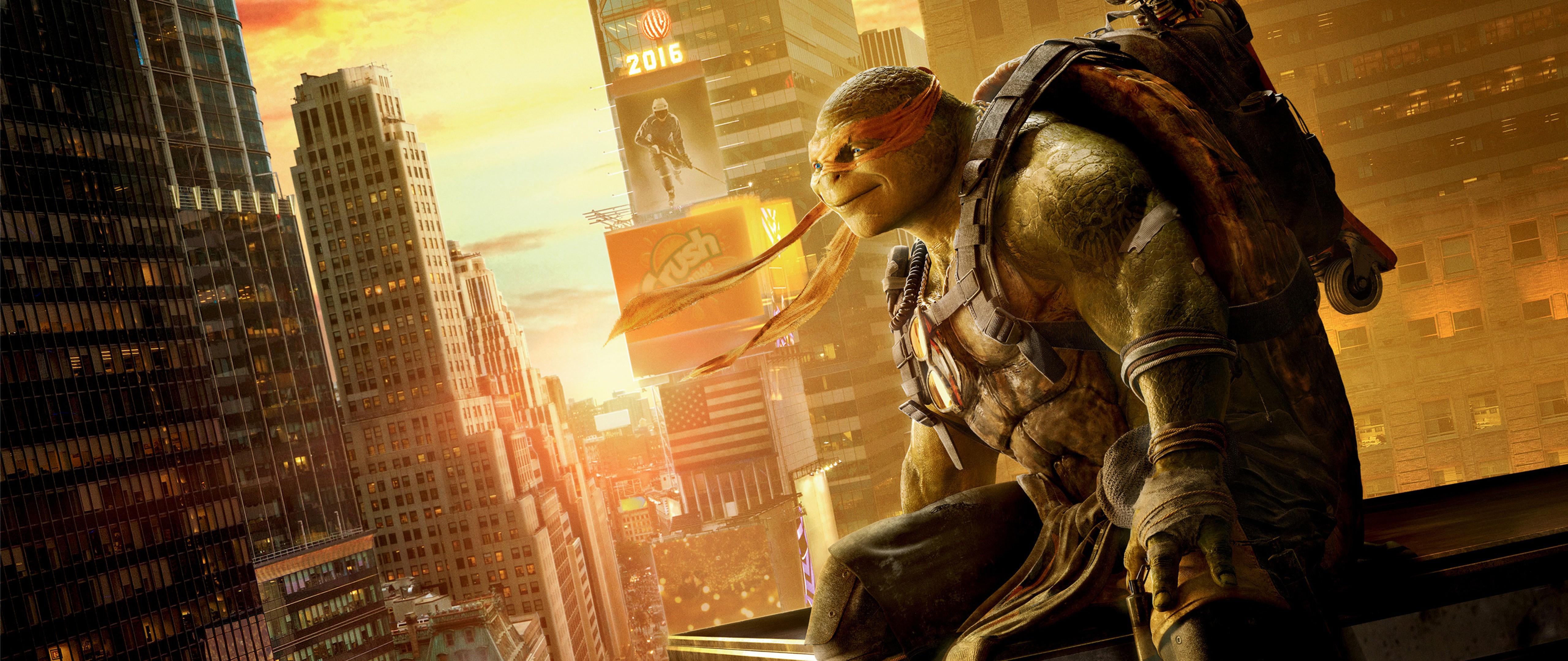 Michelangelo Teenage Mutant Ninja Turtles Hd Wallpaper For Desktop