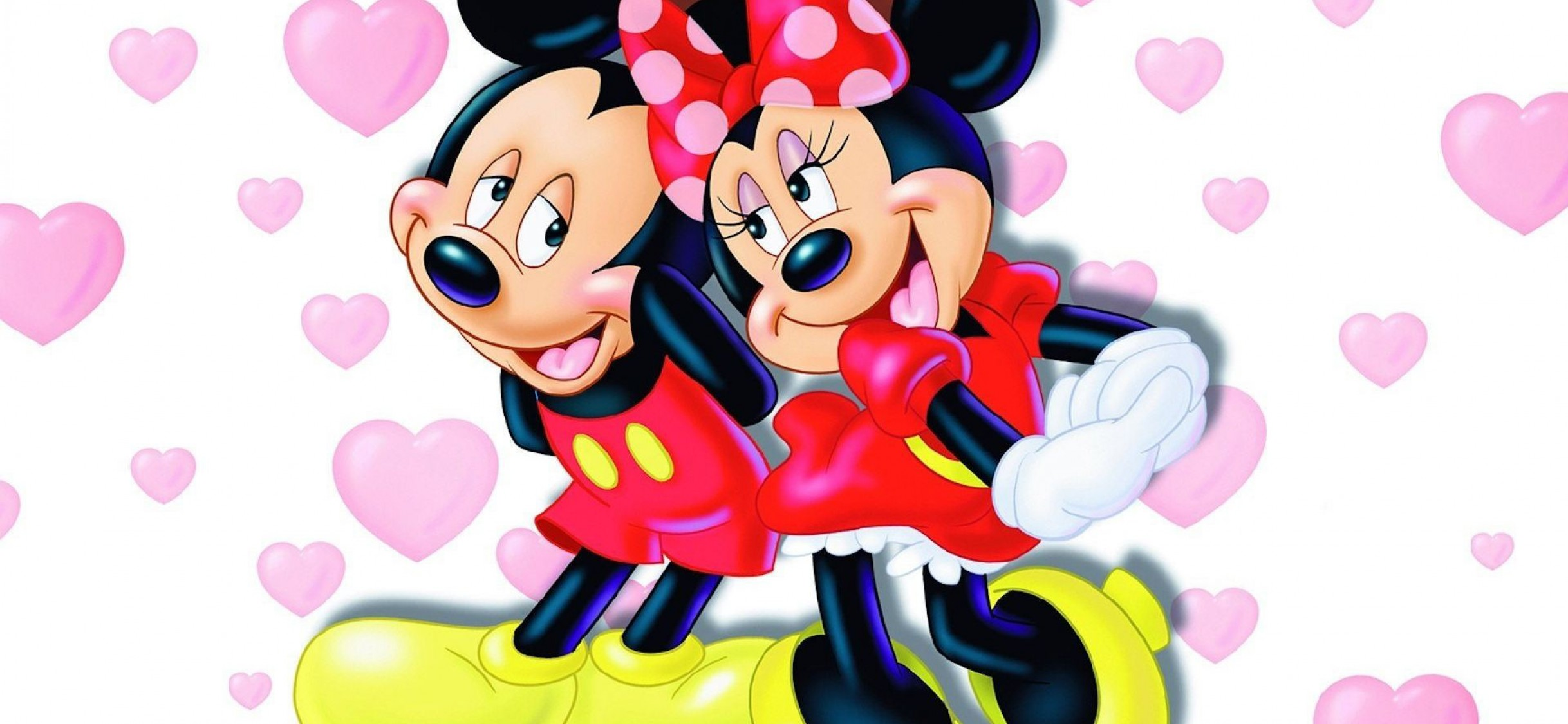 Mickey And Minnie Mouse Hd Wallpaper For Desktop Mobiles Iphone