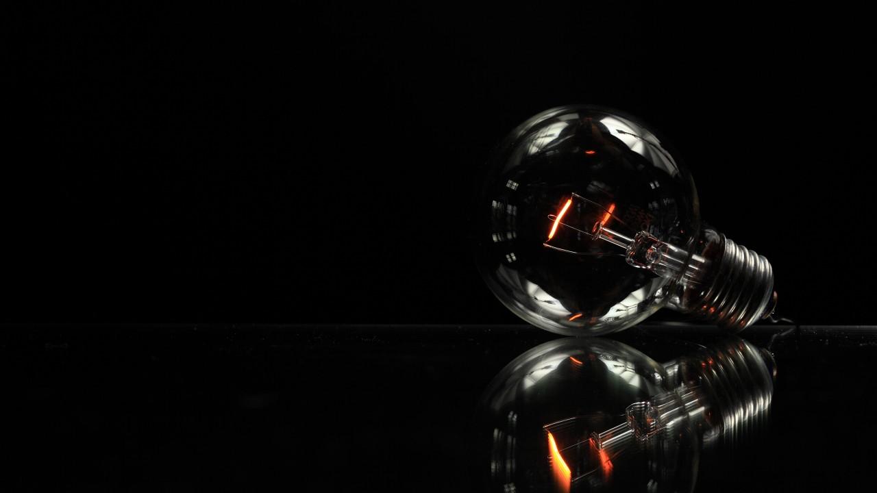 Minimalist Lightbulb Wallpaper For Desktop And Mobile