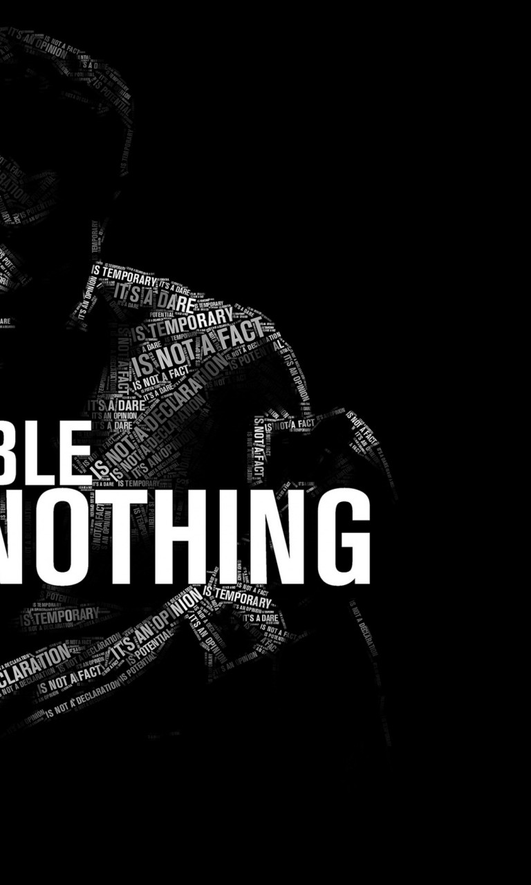 Nothing Is Impossible Full Hd Wallpaper For Desktop And Mobiles
