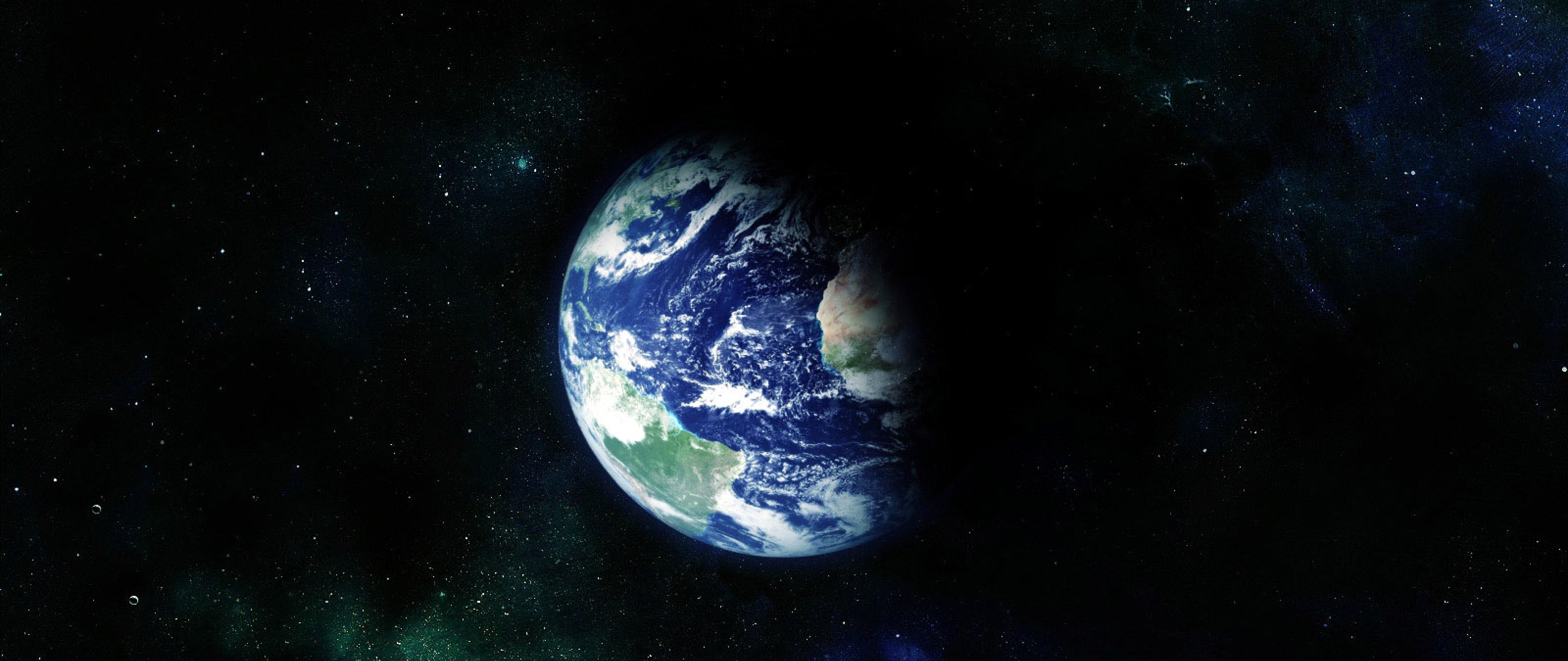 Outer Space Earth Hd Wallpaper 4k Ultra Hd Wide Tv Hd Wallpaper Wallpapers Net